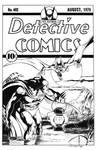 Detective Comics #402 Cover Recreation