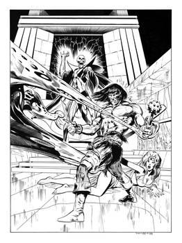 Conan #37 Cover Recreation