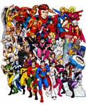 Legion of Super Heroes, Color