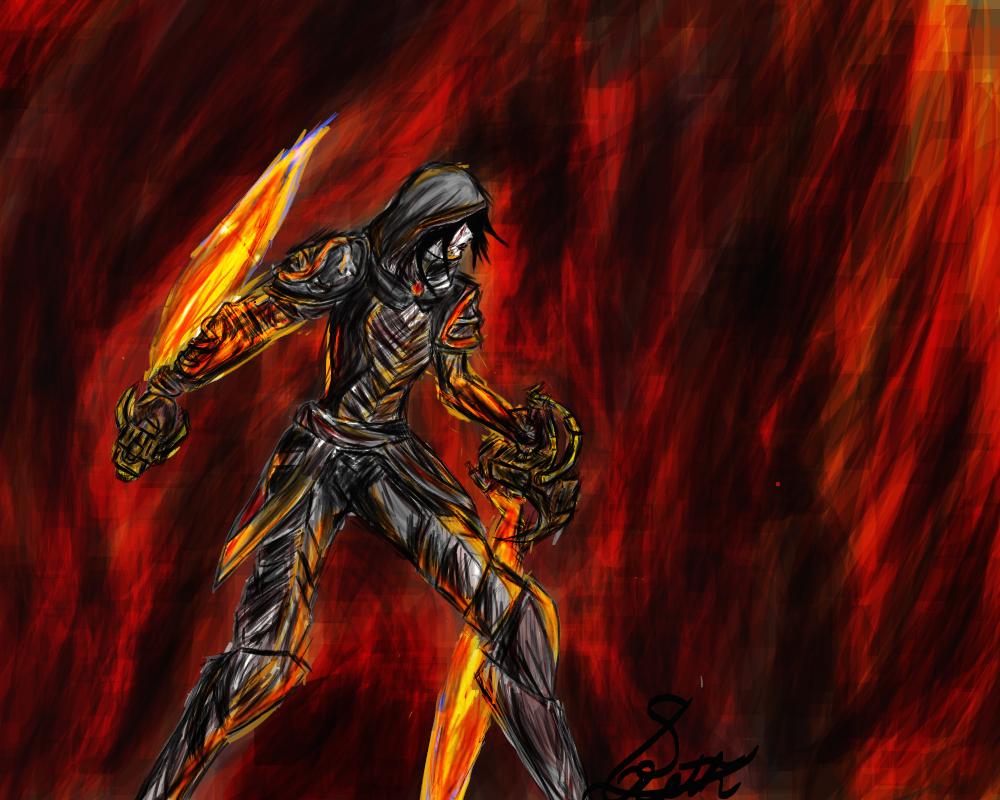Sethy Alre, Guild wars 2 Fan art by Sealreth