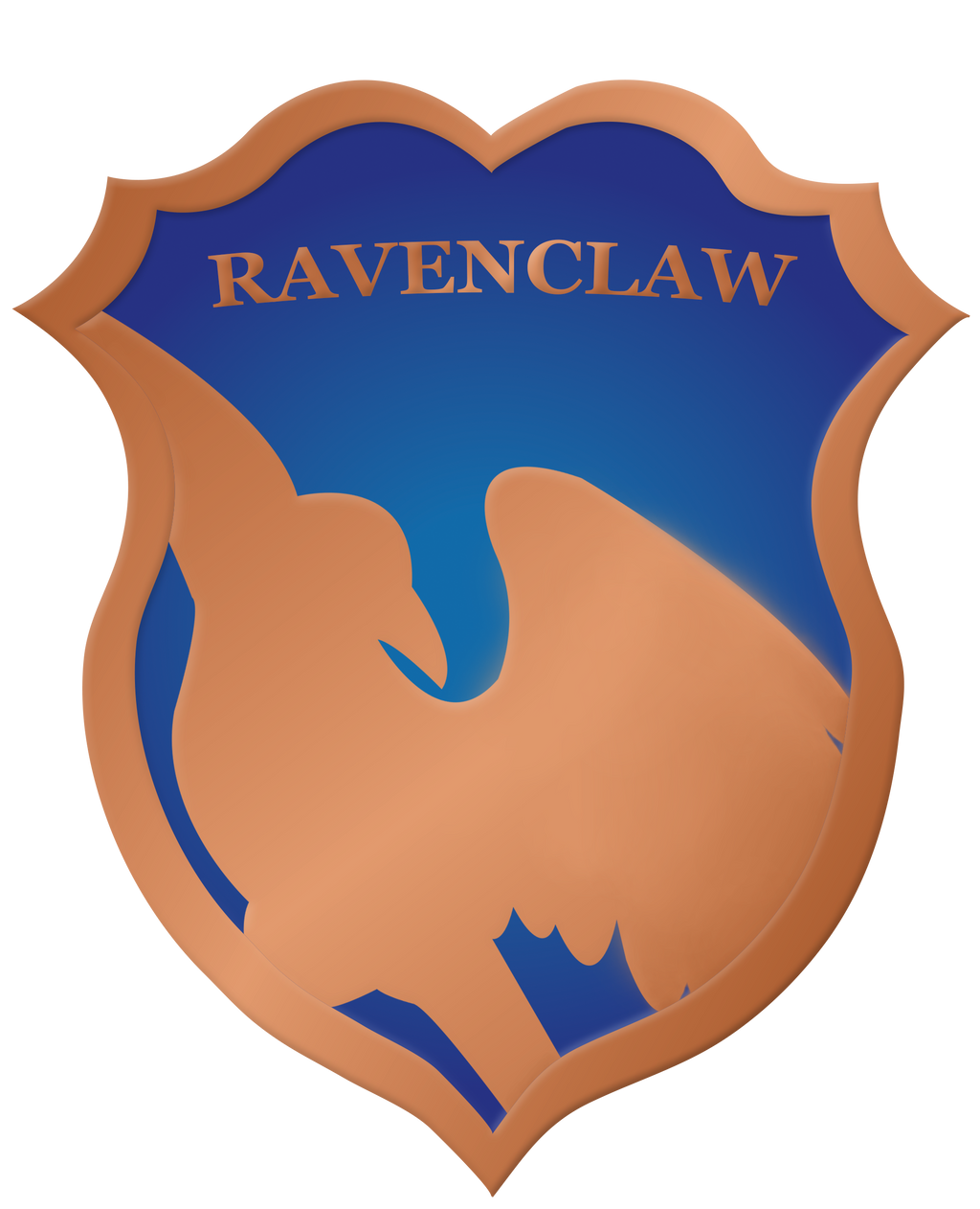 Ravenclaw Crest Badge by rainbowrenly on DeviantArt