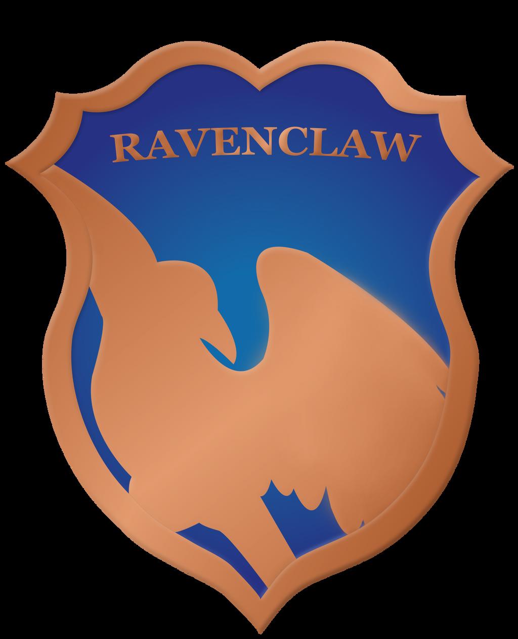 Ravenclaw Crest Badge by rainbowrenly on DeviantArt