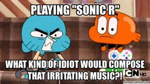 I HATE SONIC R!!!!!!!!!!!!!!!!!!!!!!!!!!!! by SonicSilver2003