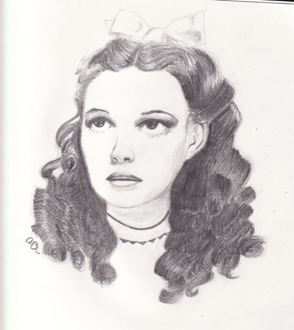 Judy Garland - Dorothy Gale by Fleurnoire on DeviantArt