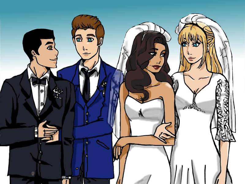 Glee fanfiction brittana wedding