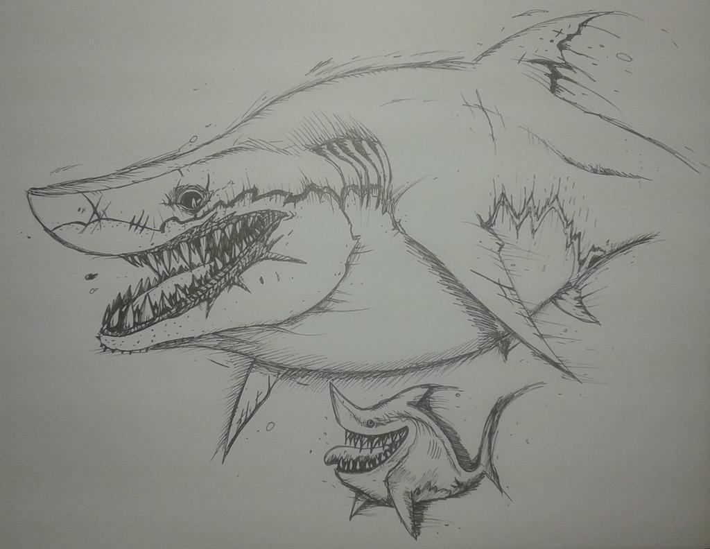 Hungry shark world-megalodon by Aykwan on DeviantArt