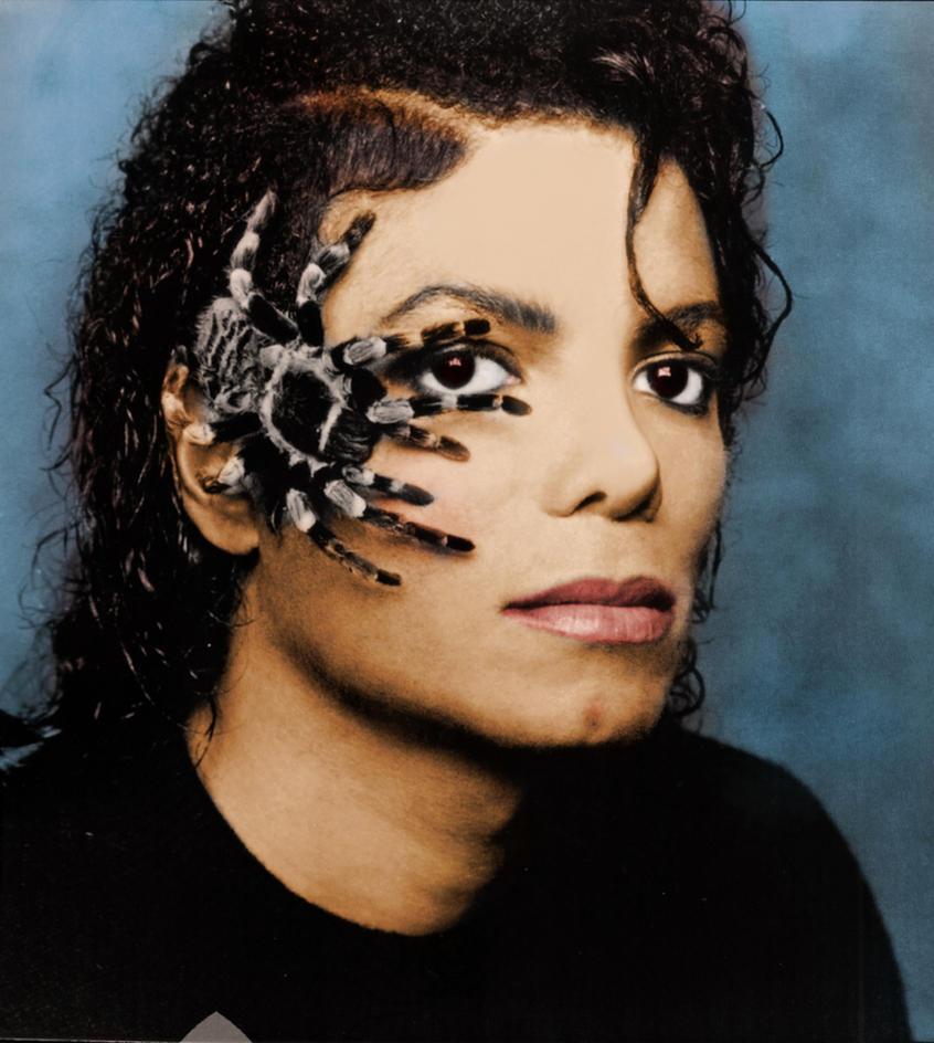 Michael Jackson With Spider By Mercuryz On Deviantart