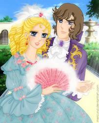 Marie Antoinette and Ferzen by mercuryZ