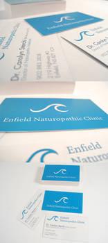 Enfield Naturopathic Logo+Card
