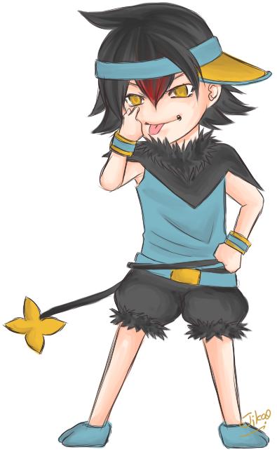 Pokemon: Luxio by Jika-Jika