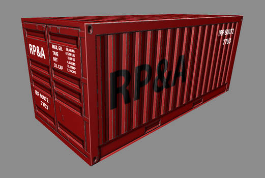 Shipping Container 01