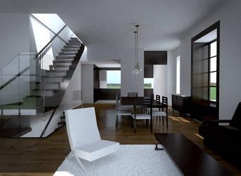 Fontana Moore Residence Render 19 (Blender 3d)