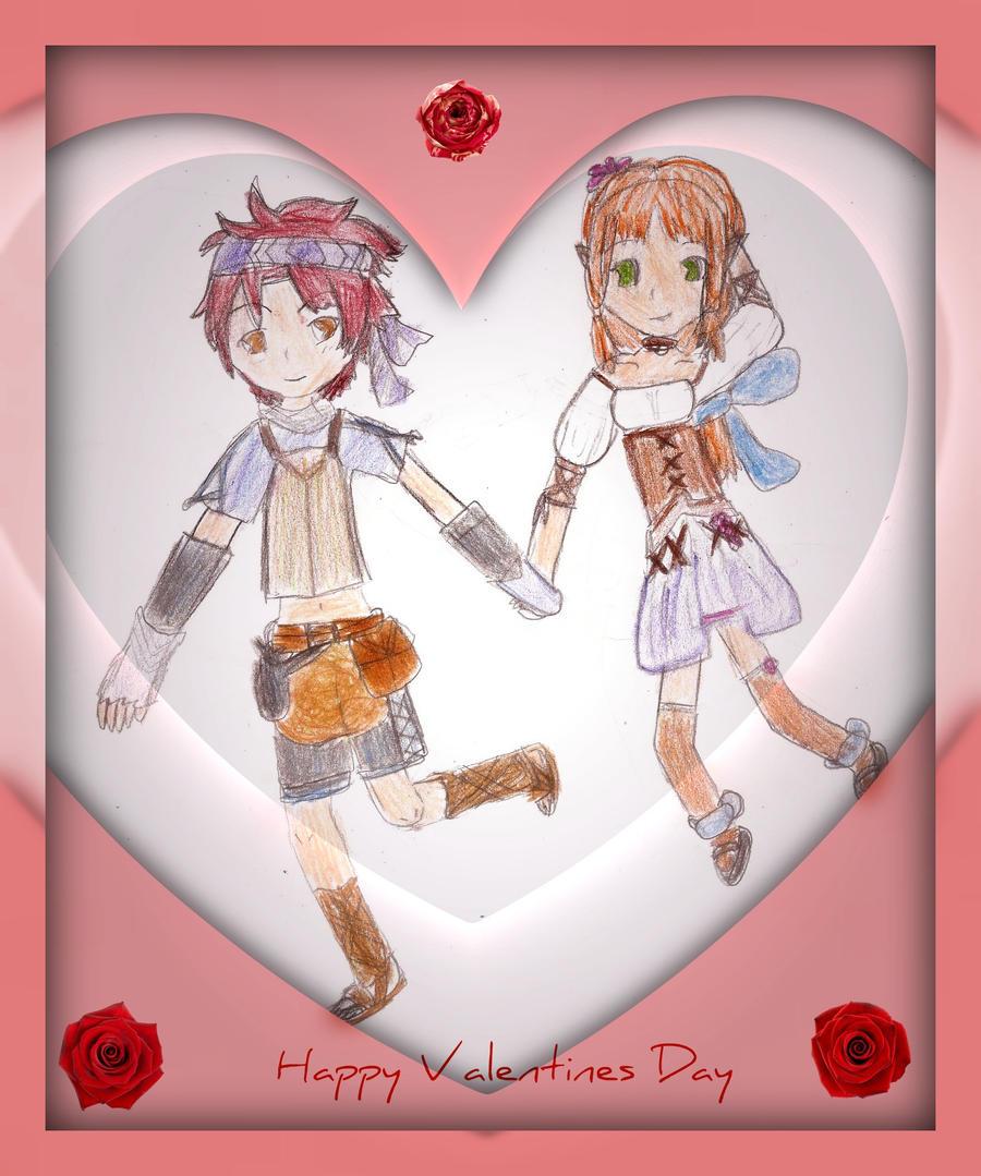 Hold My Hand Valentine by Xx-Angel-Sherubii-xX