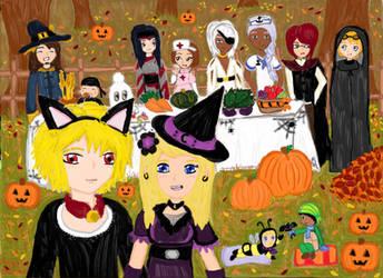 Halloween Harvest by Xx-Angel-Sherubii-xX