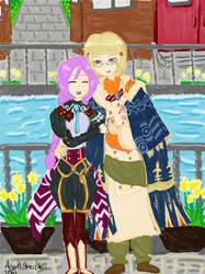 Arthur and Clorica ~ Date