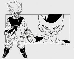The Super Saiyan... by WdMtMdW