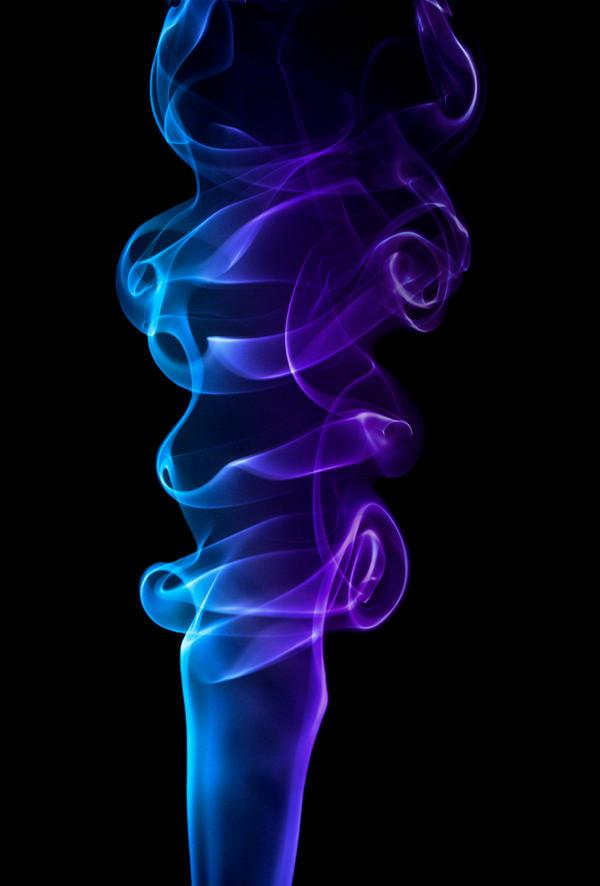 Smoke Blue Wall Decor : Blue purple smoke by marilynsmistress on deviantart