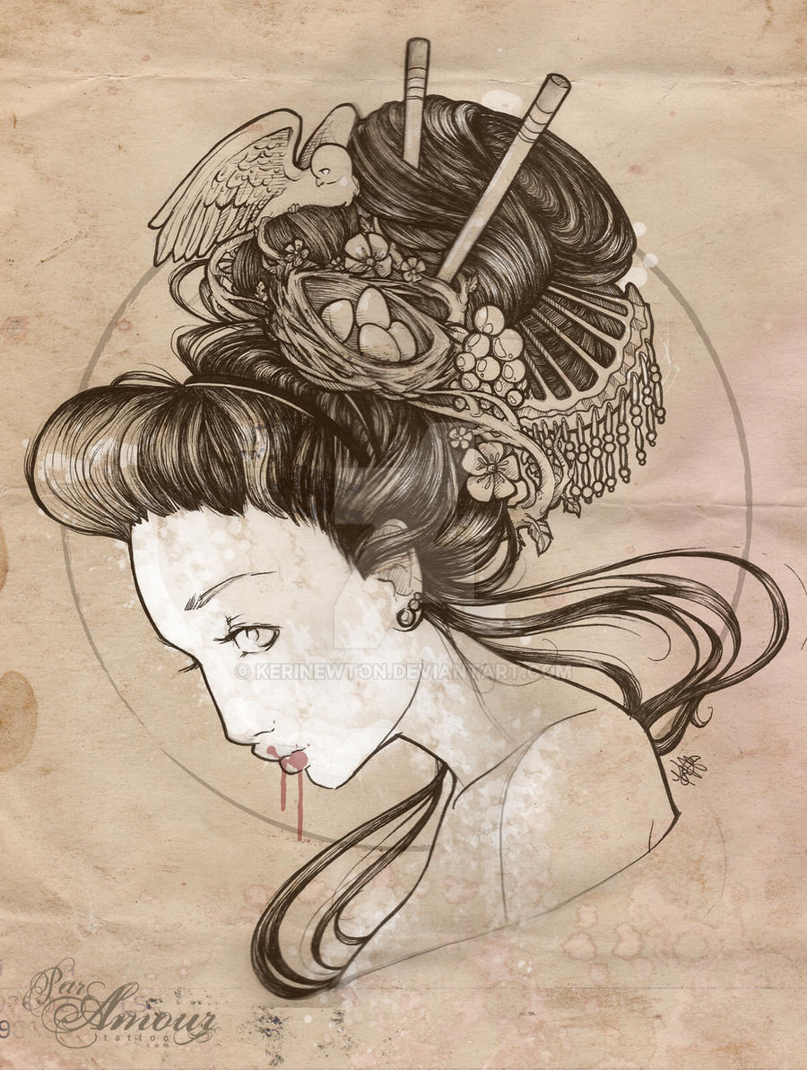Geisha by kerinewton