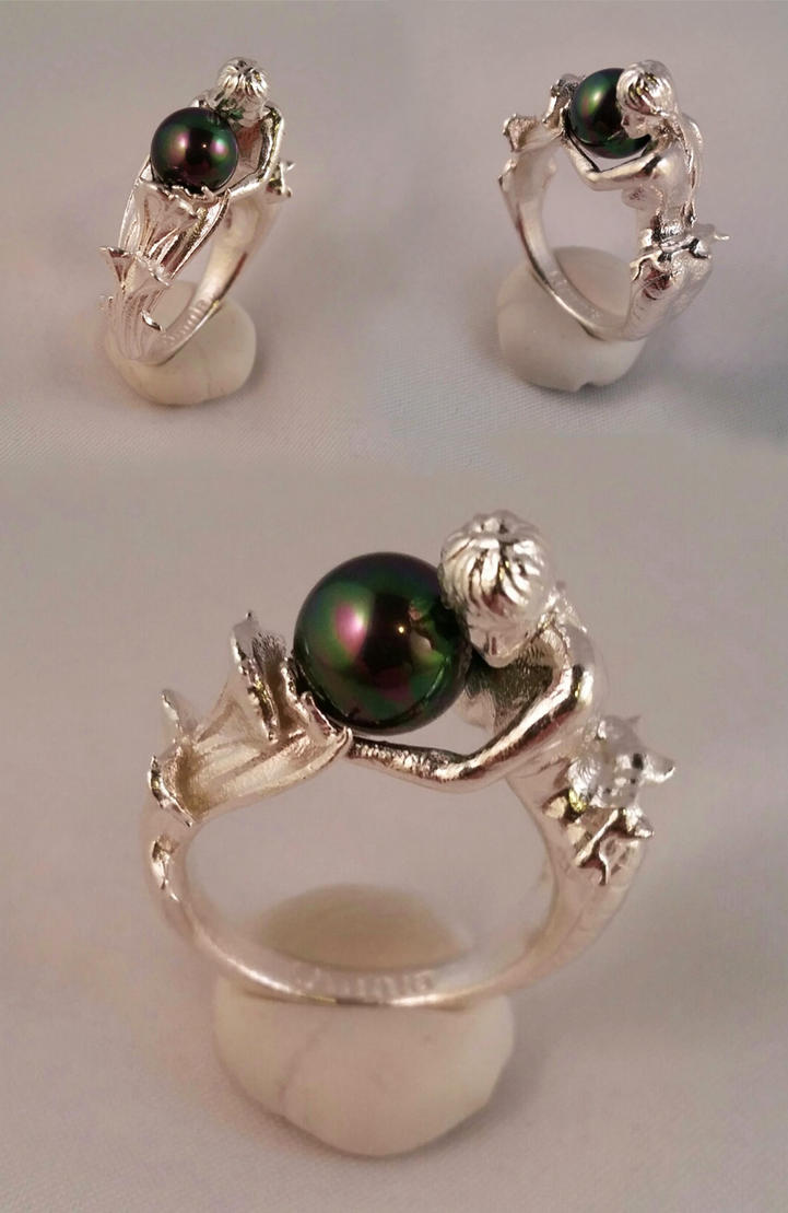 mermaid antique silver original rings sterling engagement product ring toxic stone by with regalrose shell abalone