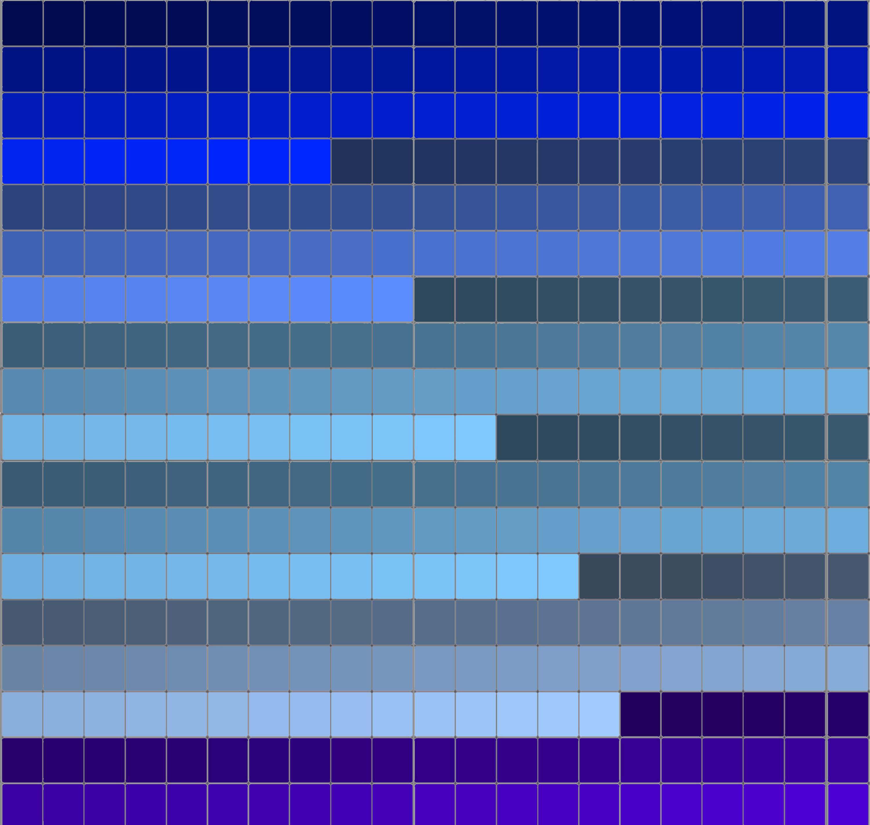 paleta de color azul by urano45 on deviantart On paleta de colores azul