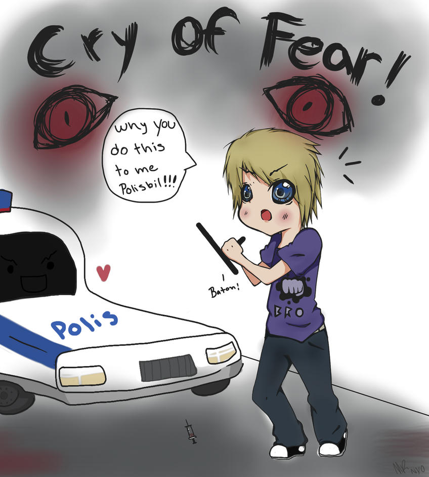 Pewdiepie FanArt Cry of fear by lNyo on DeviantArt