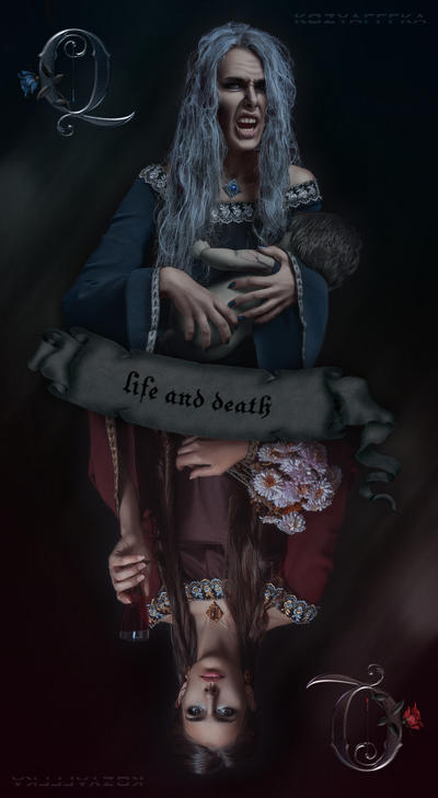cards of life and death by kozyafffka