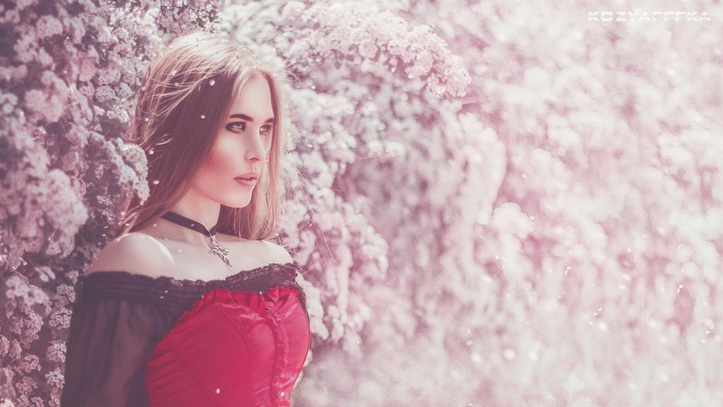 queen of flowers by kozyafffka
