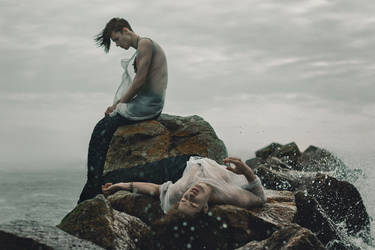 Merman_tears of the sea by kozyafffka