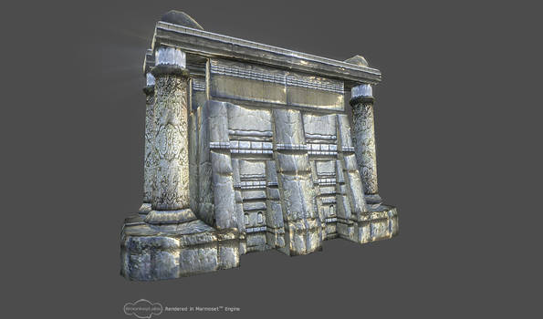 temple_wip_marmoset render
