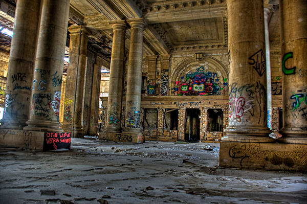 Michigan Central Station by chancellorr