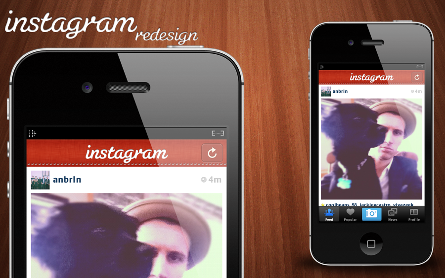 Instagram Redesign WIP by chancellorr