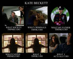 What people think Kate Beckett does