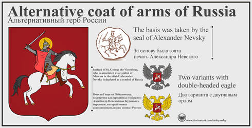 Alternative coat of arms of Russia by TudoySudoy