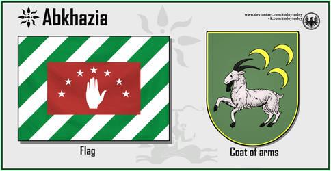 Alternative symbols of Abkhazia by TudoySudoy