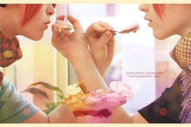 Strawberry Ice-cream by Kiri-Theme