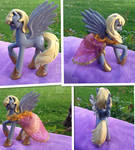 Princess Derpy Hooves Custom pony by DjPon33