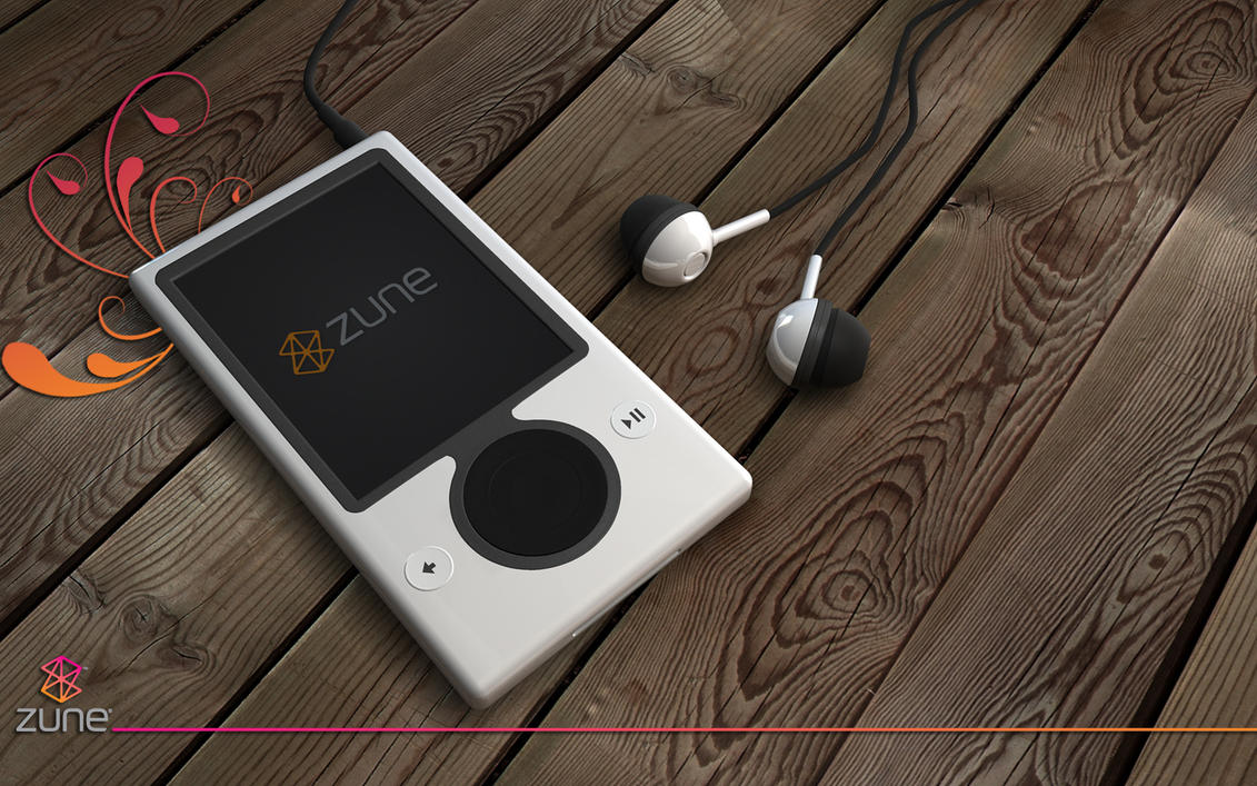 zune new render by 3DEricDesign