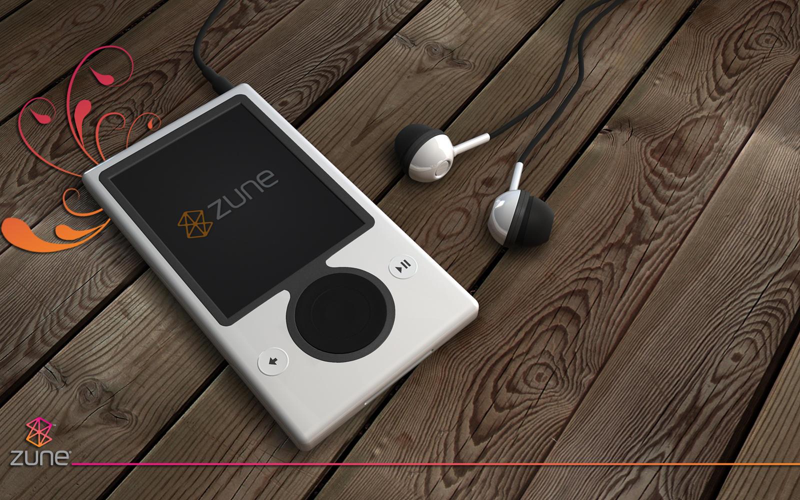 zune new render by 3DEricDesign