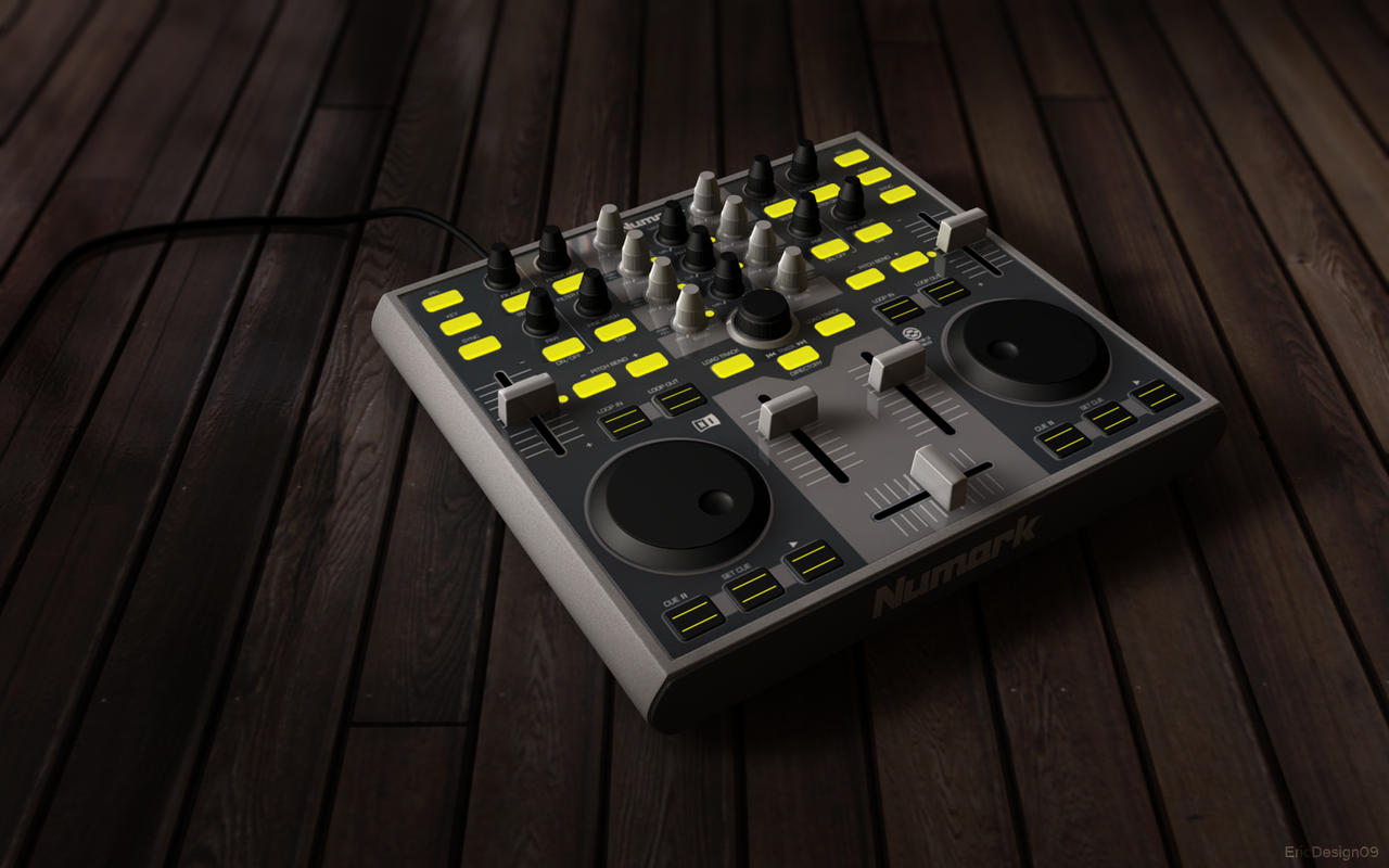 numark total control 3D by 3DEricDesign