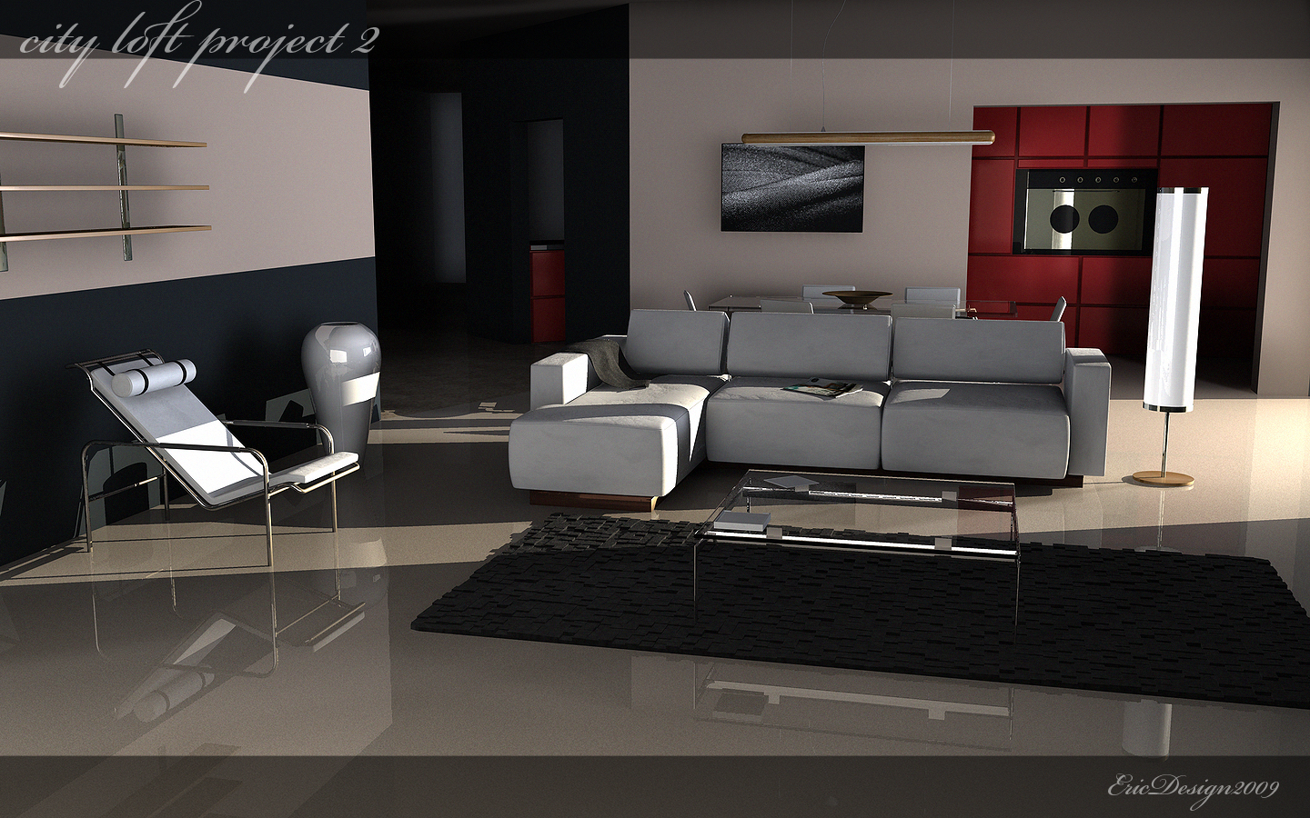 condo project 3 by 3DEricDesign