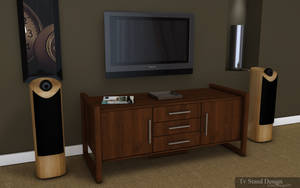 Tv stand design by 3DEricDesign