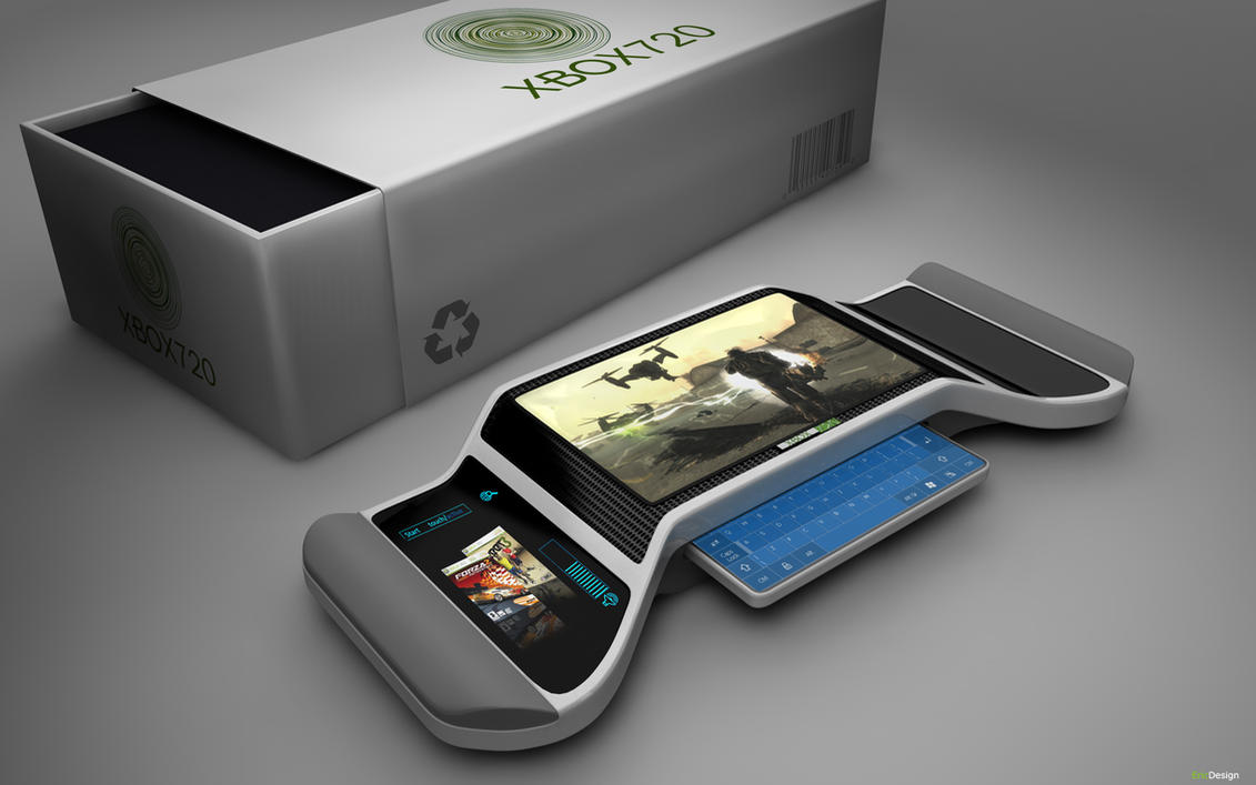 XBOX 720 concept by 3DEricDesign