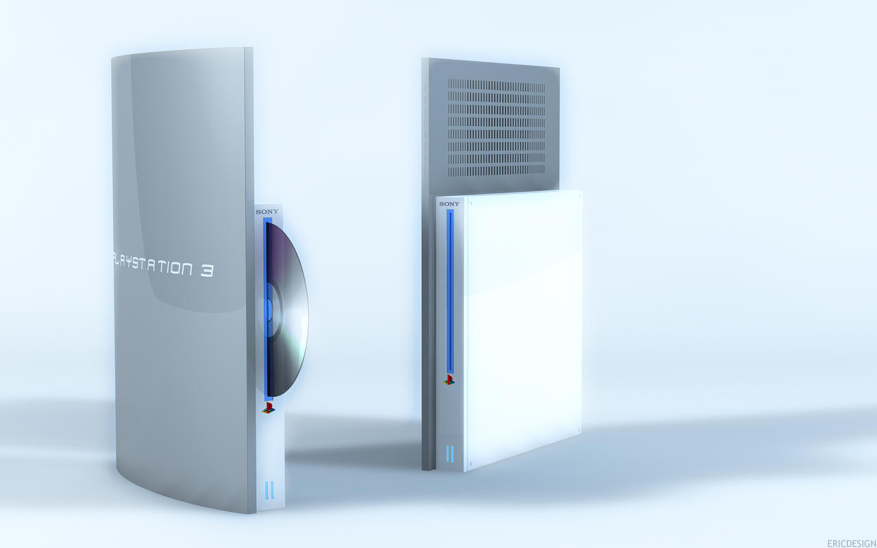 NEW SLIM PS3 by 3DEricDesign
