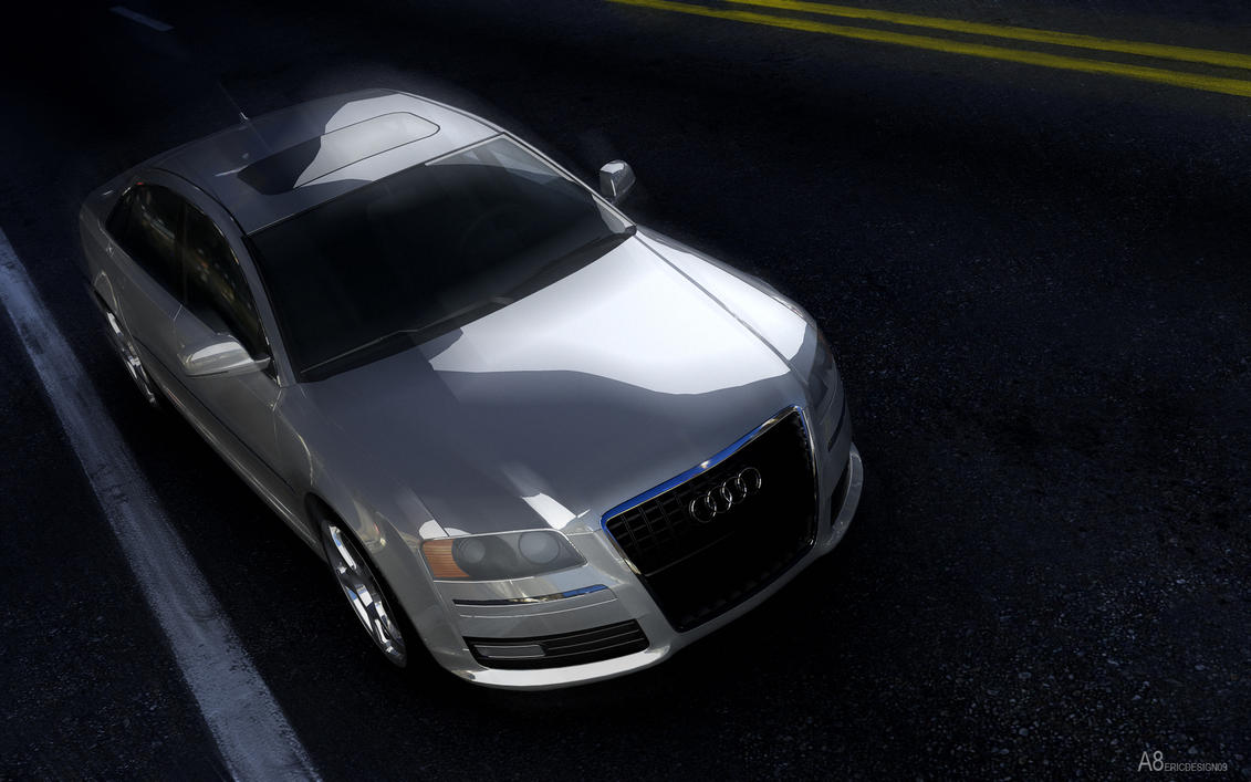 AUDI A8 by 3DEricDesign