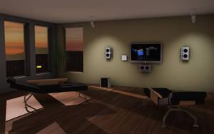 ZEN apple STUDIO by 3DEricDesign
