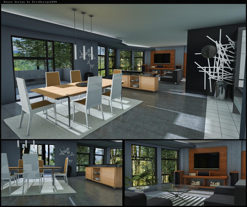 house design final by 3DEricDesign