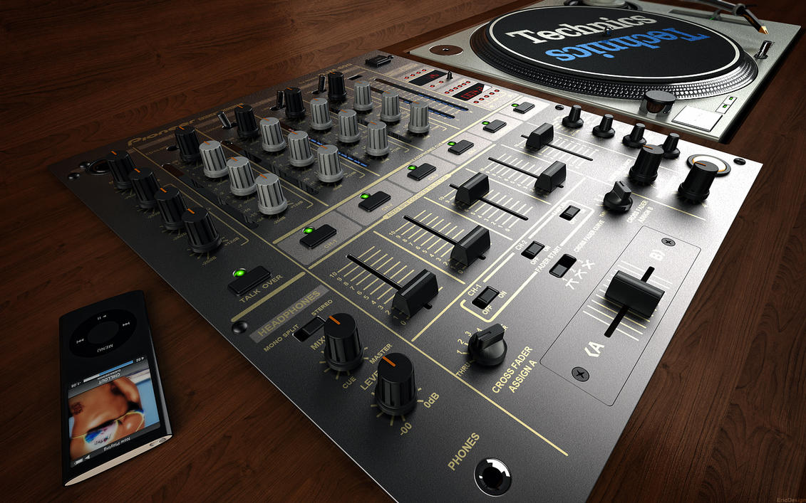 DJM 600 final 3D by 3DEricDesign
