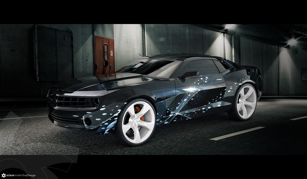 camaro final octane c4d by 3DEricDesign
