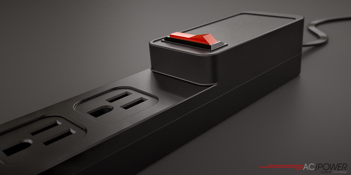 AC power bar by 3DEricDesign