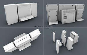 Sony HDCLX20i Wip by 3DEricDesign